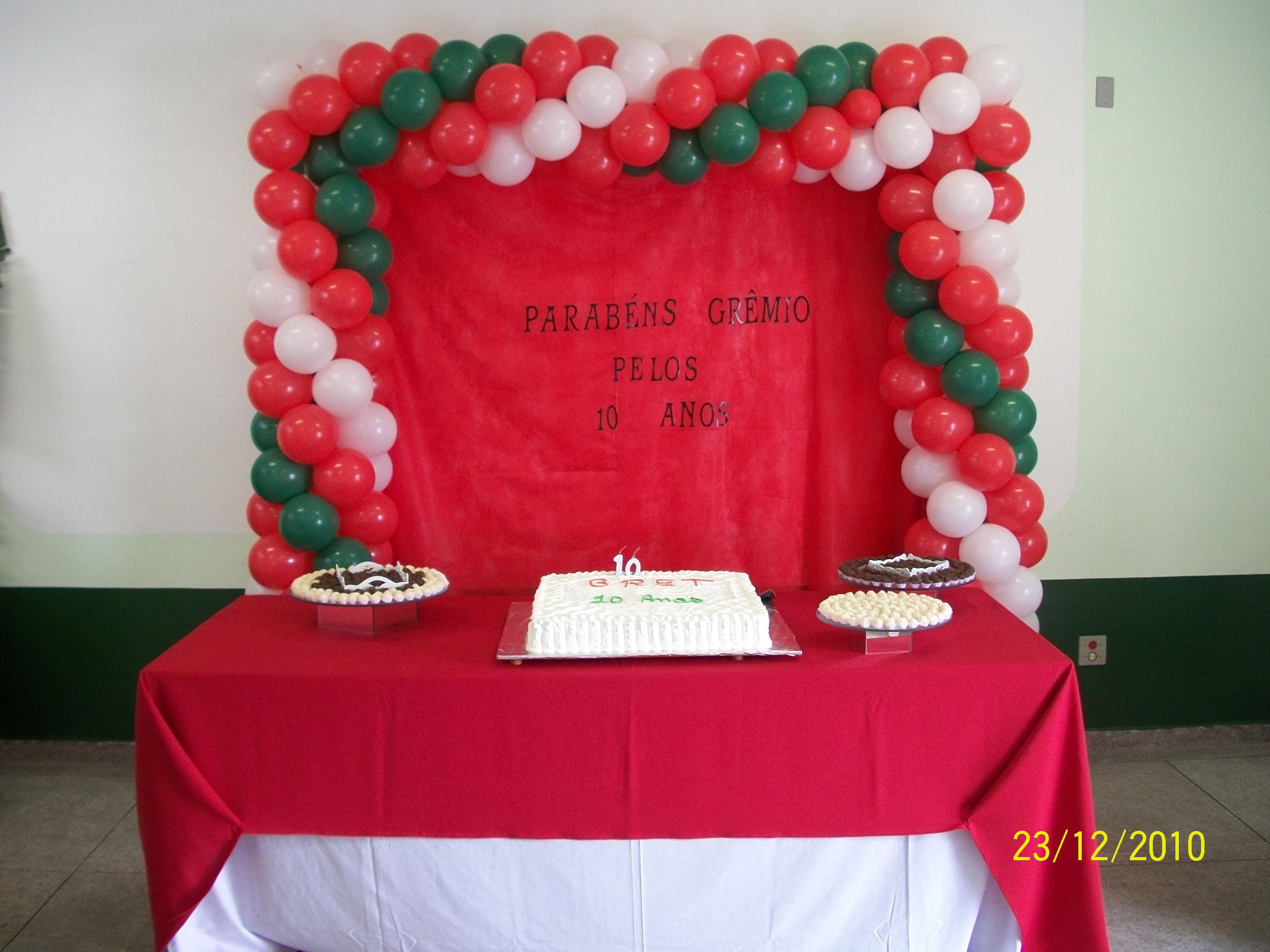 Festa de aniversário da empresa